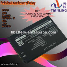Battery BL-42FN For LG,Mobile Phone Battery P350,Battery For LG C3550
