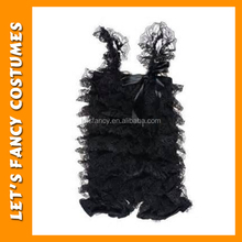 PGCC0290 Black Lace Petti Tops Ruffler Tutu Tops For Baby One Piece Girls Party Dresses Child Wear Wholesale