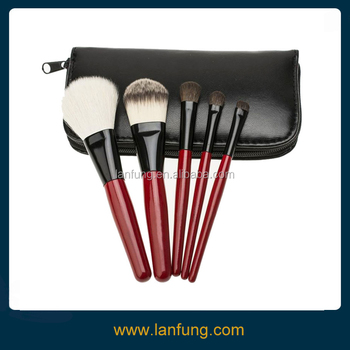 5pcs Make up brush set,Cosmetic brush set with pouch,make up kits