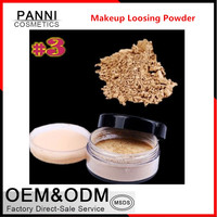 Mineral powder face use 6 color makeup Loose Powder