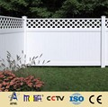 Zhejiang AFOL double face pvc fence main gate and fence wall design