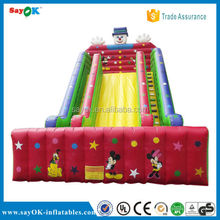 Factory directly gaint inflatable slide/inflatable snow slide for kids/adults