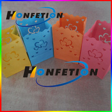 colored luminary candle bags for decoration