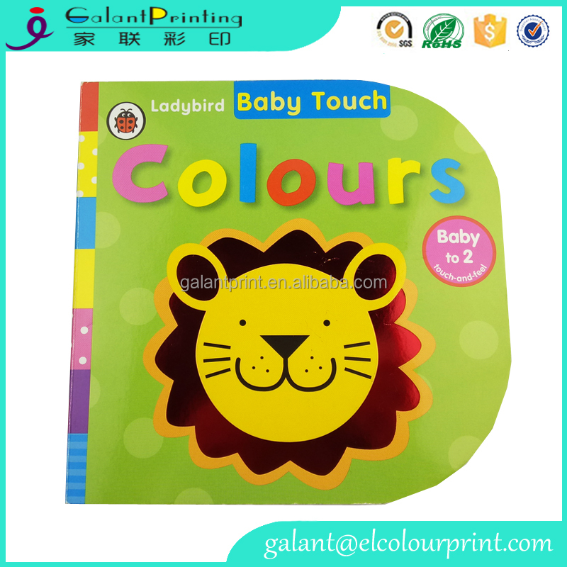 Offset Printing colourful child Cardboard book with matt Film Lamination