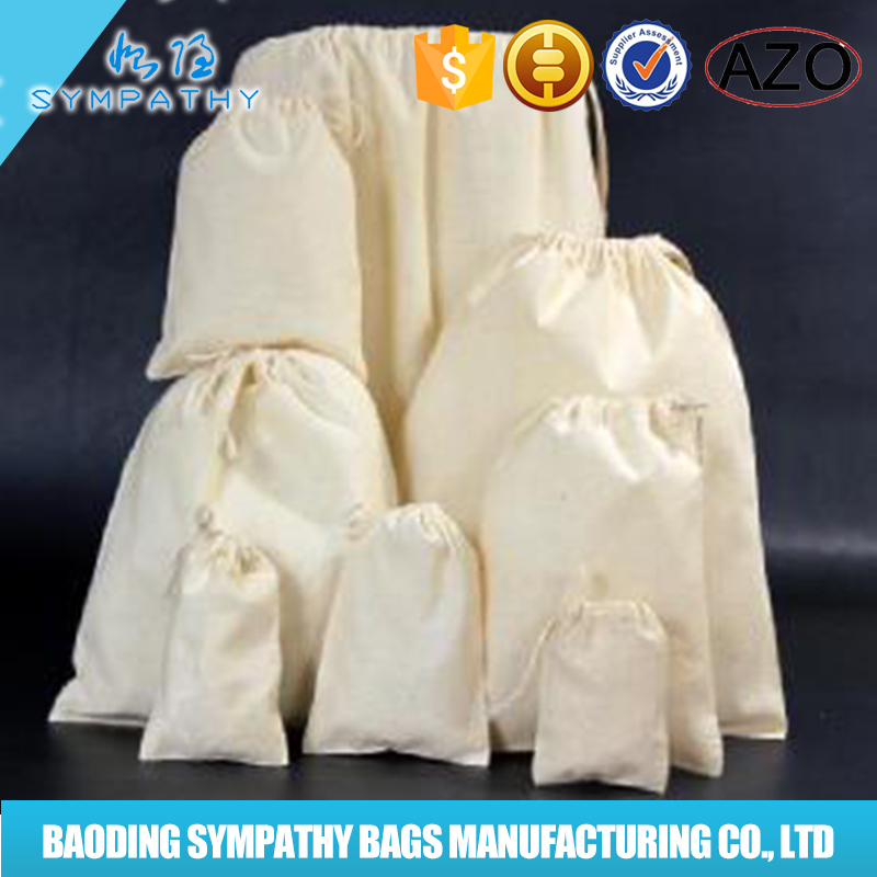 new product large drawstring cotton shoes dust paking bag