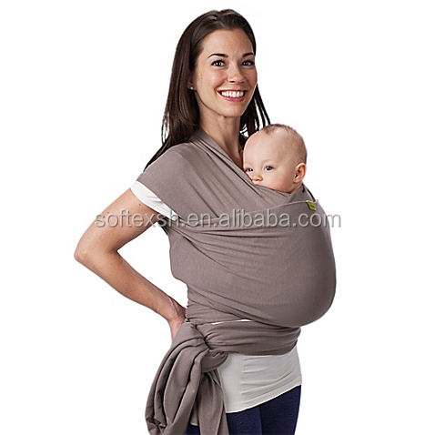 Hot Sale Wybrace Baby Sling Stretch Wrap Carrier, Popular Baby Ring Sling, Baby Carrier