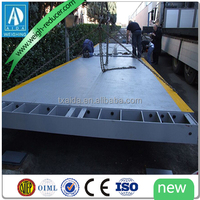 electronic portable truck used weighbridge