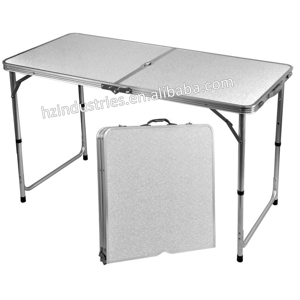 Aluminum folding table base for sale