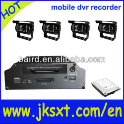 4 channels real time new mobile dvr video recorder for rooter