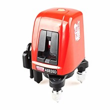 A8826D Laser Level 2 Line 1 Dots 1V1H Portable 360 Self-leveling Cross Red Line Lazer