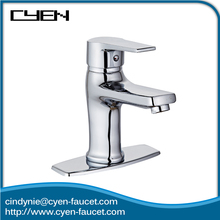 Hot Sale European Style Mixer Brass Body Single Handle Bathroom Sink Water Faucet