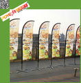 Hot sale promotional advertising beach flags