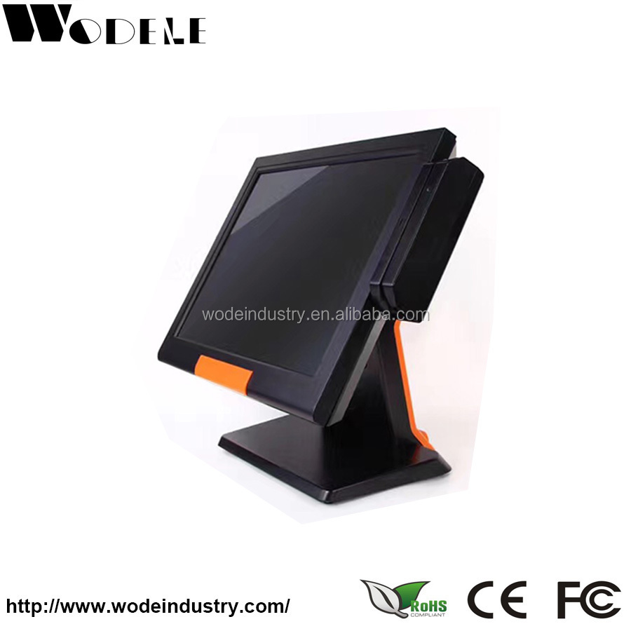 New 15 touch Screen POS TFT LCD TouchScreen Monitor with Metal POS Stand