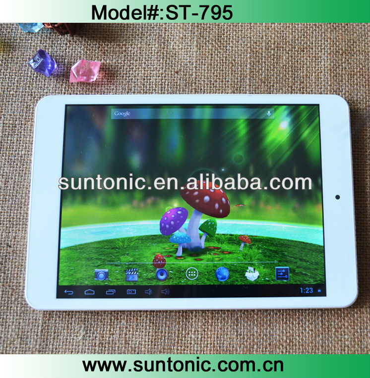 "smart pc tablet 7.85"" RK3168 with full metal case"