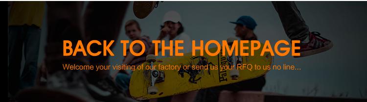Forma Personalizada barato Profissional Em Branco Convés de Bordo Canadense Skate