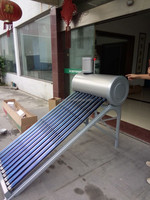 OEM Factory Non-Pressurized Small Solar Water Heater With Painted Steel Shell Or Stainless Steel sample