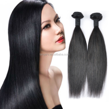 Double Drawn 9a Abundant Human Material And Silky Soprano Remy Straight Wave Style Peruvian Hair Extensions