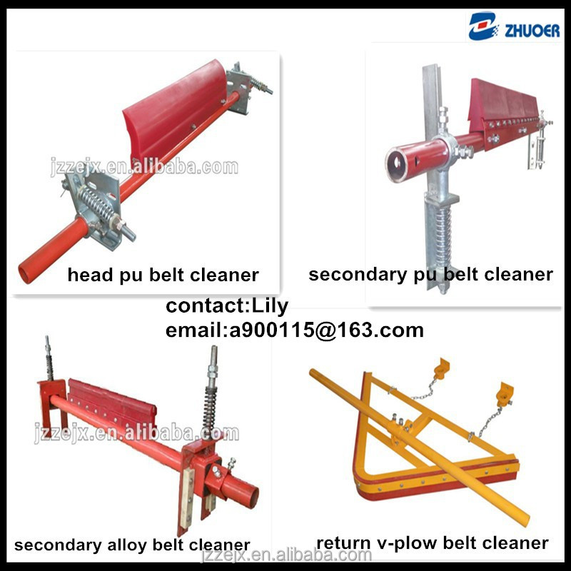 high quality conveyor belt cleaners and plows