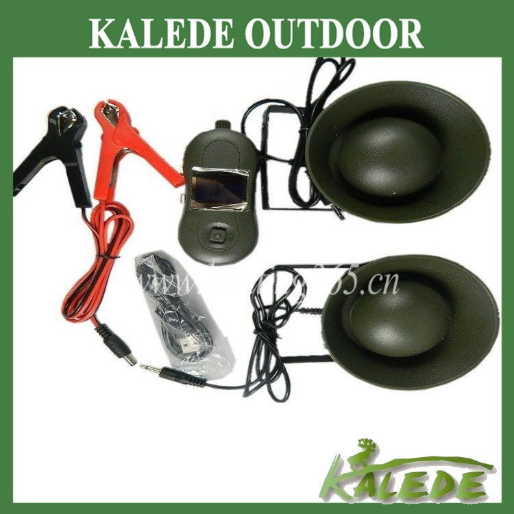 Original factory supply hunting equipment bird caller bird song mp3 player with 2pcs 50W speaker wholesale duck decoys
