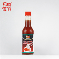 Superior 150ml glass bottle packed natural sriracha hot chili sauce with private label