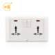 Multifunctional UK universal 13A wall switch socket outlet