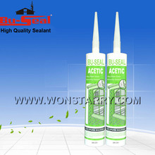 high quality moisture curing anti mildew silicone sealant