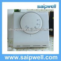 Hot Sale room thermostat chilled water fan coil 220V 50Hz 10 to 30 Degree