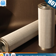 High quality 1 2 4 6 10 12 micron 304 316 316L stainless steel filter element /filter cartridge