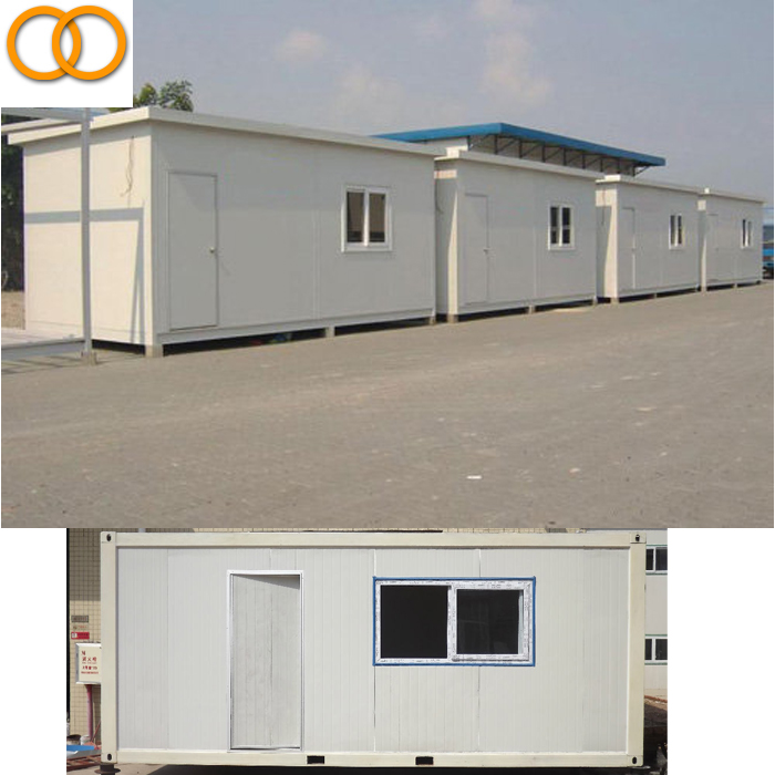 Factory price fiberglass prefabricated house fast food contaienr shop container house export prefab house