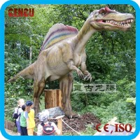 Kids Mechanical Cartoon Dinosaur for Inflatable Slide Amusement Park