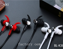 AliExpress hot sell sports metal housing wireless Bluetooth 4.2 In-Ear Stereo K380 Headset
