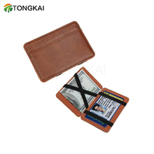 2017 Best Selling India Genuine Leather The Magic Wallet for Man