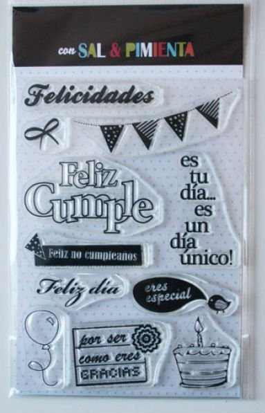 Clear Stamps / Sellos Transparentes