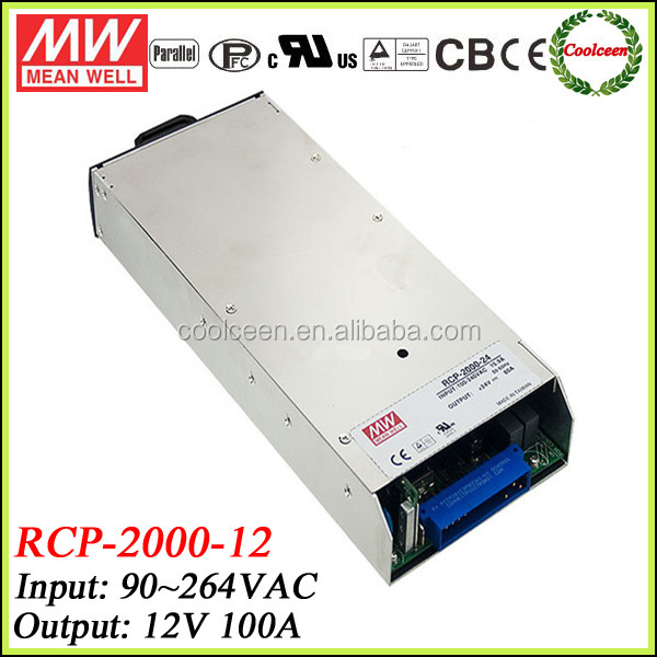 Meanwell RCP-2000-12 1200w switch mode power supply 12v