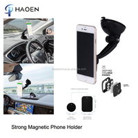 Uniserval Windshield Magnetic Phone Car Holder Mount For Ipad With Strong Magnetic 360 Degree Adjustable GPS Phone Stand