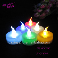 3.6cm*3.6cm Flameless Rainbow LED Candle Production Line
