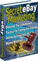 Secret E-Bay Marketing [e-Book]