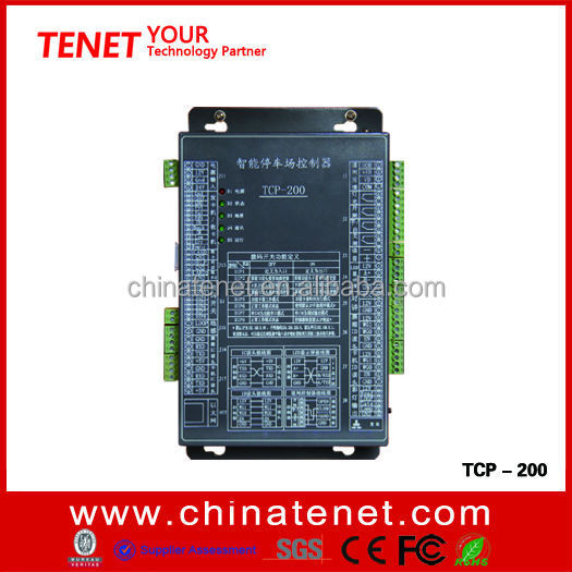 Car parking management system control unit with TCP/IP technology