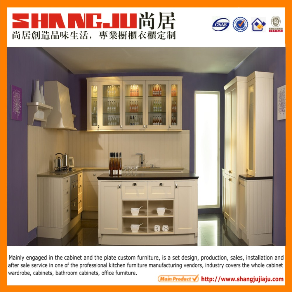 Hot sales home furniture kitchen wall cabinets buy for Cheap flat pack kitchen cabinets