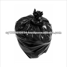 Good Quality Black PE Plastic Garbage Bags