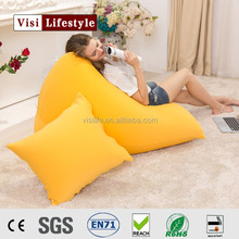 2016 visi loscasle lycra bean bag seat puff children sofa