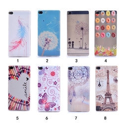 Sublimation UV Printing TPU Soft Phone Case for Huawei Ascend P8