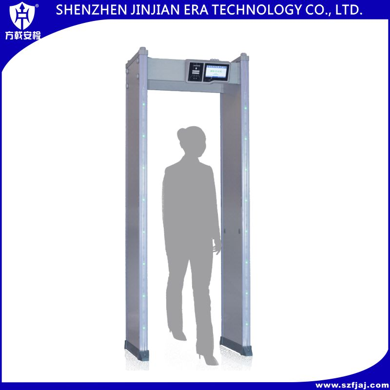 CE approved metal detectors walk through gate/walk through metal detector manufacturer/gun metal detector