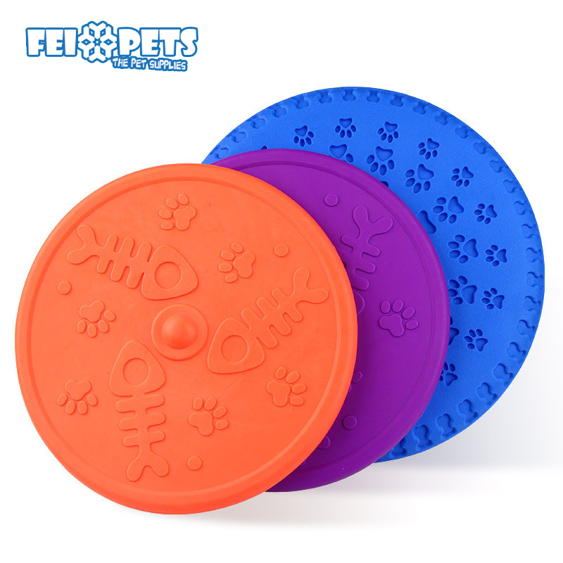 FX0094T Latest dog flying disc interactive training catch toys for dog