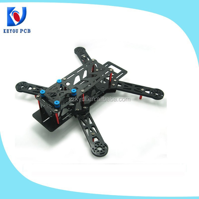 QAV 250 Fiberglass/carbon fiber Mini 250 FPV Quadcopter Frame from China shenzhen factory