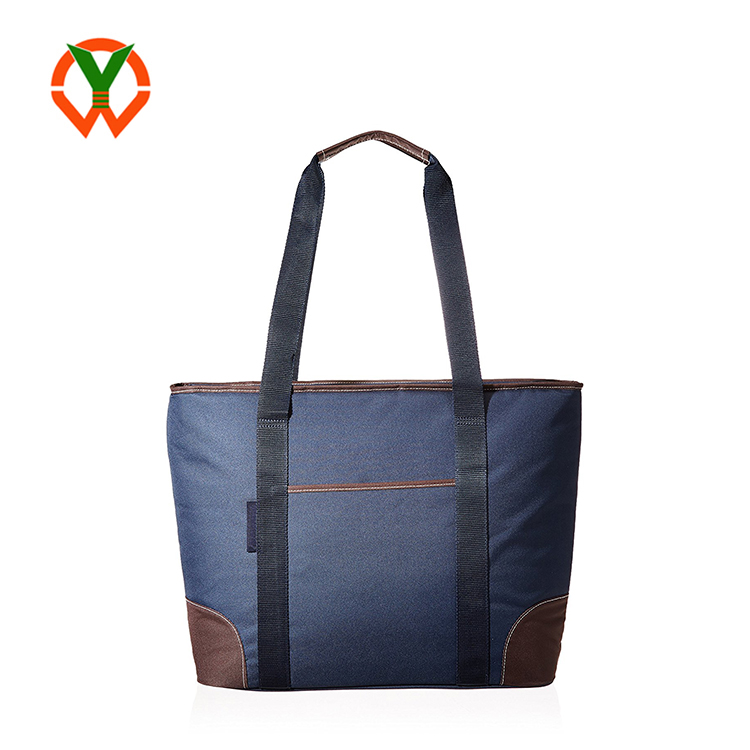 Wholesale Insulated Large Capacity Durable Women Standard Shape Canvas Tote Bag