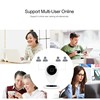 Buglar Alarm Surveillance System Wi-Fi Motion Detector Wireless IP Camera/Cam For Household Security