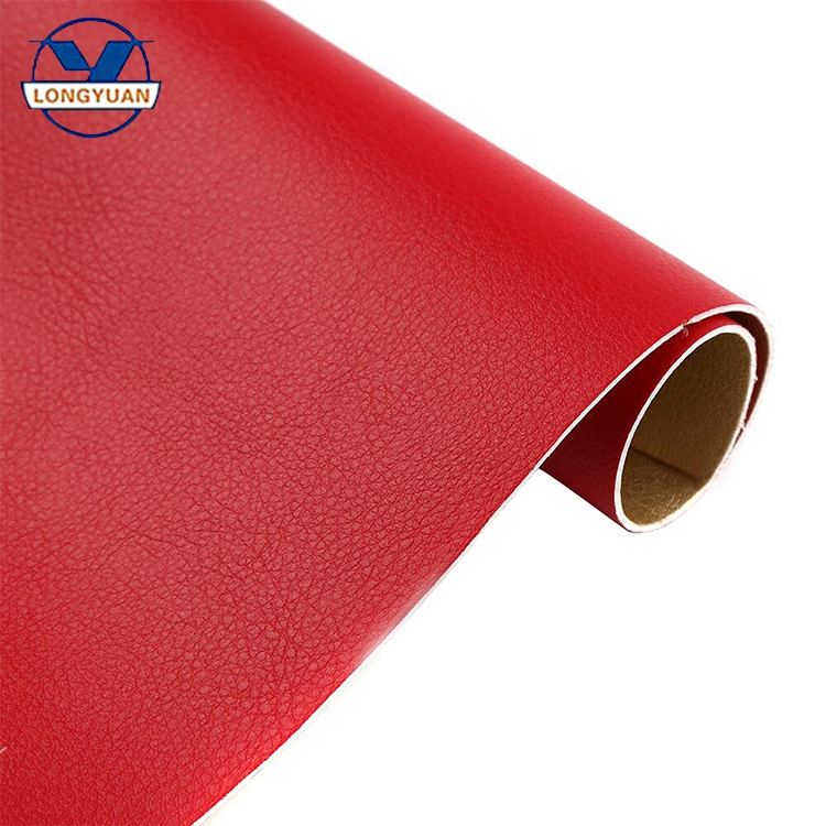 Wholesale full stock double pu products imitation leather fabric
