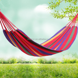 Durable Cotton Canvas Hammock Swing Chair for Camping, Beach