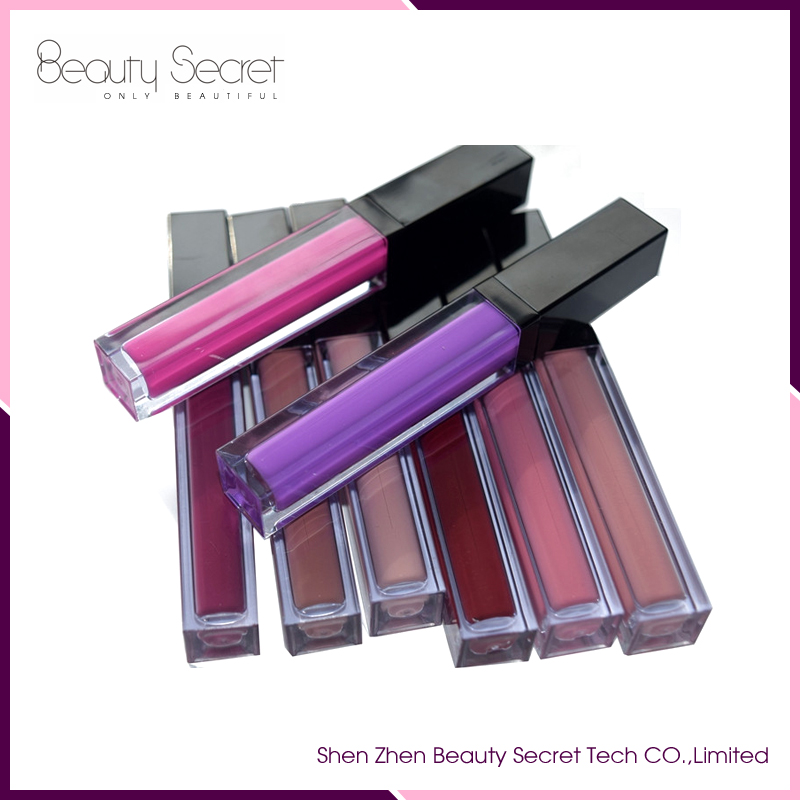 Wholesale custom private label matte lip gloss